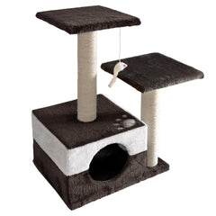 Cat Scratching Poles Post Furniture Tree 70cm White Dark Grey | Buy Cats & Dogs Products Online With the Best Deals at Anbmart.com.au!