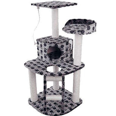 Cat Scratching Poles Post Furniture Tree House Condo Black Grey | Buy Cats & Dogs Products Online With the Best Deals at Anbmart.com.au!