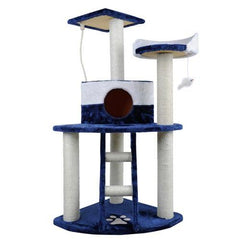 Cat Scratching Poles Post Furniture Tree House Condo Blue White | Buy Cats & Dogs Products Online With the Best Deals at Anbmart.com.au!