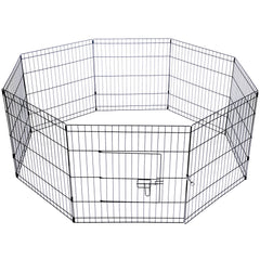 8 Panel Pet Playpen - 24 Inch | Buy Cats & Dogs Products Online With the Best Deals at Anbmart.com.au!