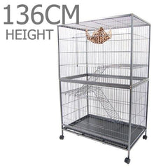 3 Level Cat Ferret Hamster Rat Bird Cage Aviary - Ferrets, Hutches & Small Animals - ANB Mart