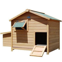 Deluxe Roomy Chicken Coop - Backyard Poultry - ANB Mart