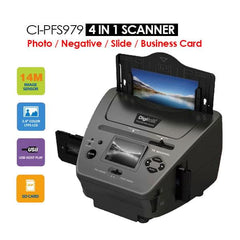 4-IN-1 Combo 14MP Photo/Film/Slide/Business card Scanner - Computer Accessories - ANB Mart