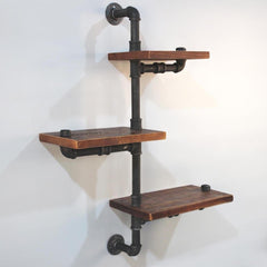Rustic Industrial DIY Floating Pipe Shelf | Buy Lounge Furniture Products Online With the Best Deals at Anbmart.com.au!