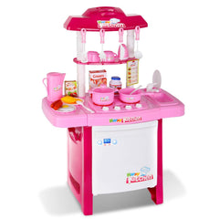 Kids Play Set Little Chef Kitchen 25 Piece - Pink | Buy Kids Games & Toys Products Online With the Best Deals at Anbmart.com.au!
