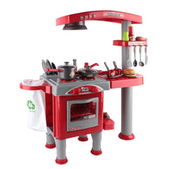Kitchen Pretend Play Set Red - Kids Games & Toys - ANB Mart