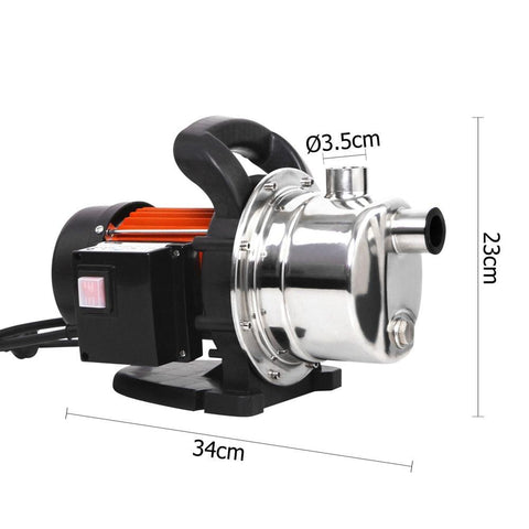 800w Stainless Steel Garden Water Pump 54L/Min - Generators, Pumps & Engines - ANB Mart