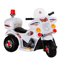 Kids Ride on Motorbike White - Kids Go-Karts & Ride-Ons - ANB Mart