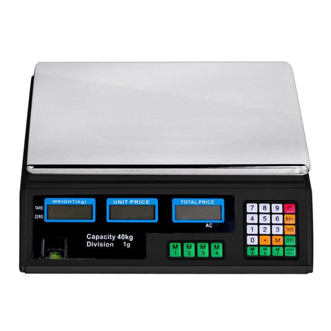 Kitchen Electronic Digital Scales 40kg  Black - Scales - ANB Mart