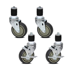 Set of 4 Castor Wheels - Kitchen, Dining & Bar - ANB Mart