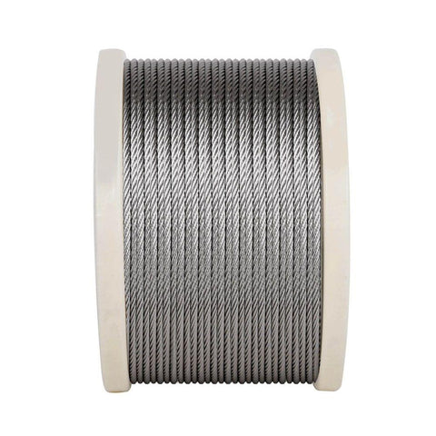 7x 7 Marine Stainless Steel Wire Rope 305M - Farm Supplies & Pest Control - ANB Mart