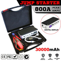 Portable Emergency Jump Starter 30000mAh Backup Power Bank Car Charger 12V 800A | Buy Auto Tools Products Online With the Best Deals at Anbmart.com.au!