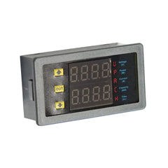 Voltage Meter 20A Led Dual Display Digital Power Voltmeter Ammeter VAM9020 AMP - Auto Tools - ANB Mart