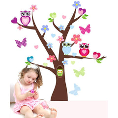 Tree and Owl Wall Stickers - Totally Movable | Buy Home Decoration Products Online With the Best Deals at Anbmart.com.au!