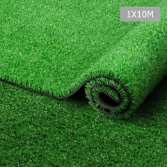 Artificial Grass 10 SQM Polypropylene Lawn Flooring 15mm Olive - Artificial Grass & Greenhouses - ANB Mart