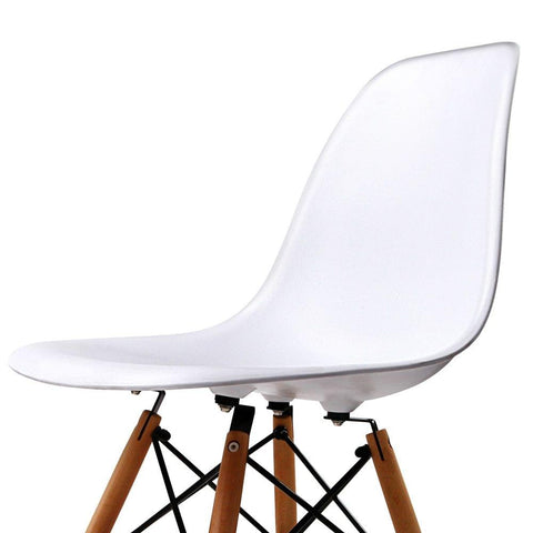 Set of 4 Dining Chair White - Barstools & Chairs - ANB Mart