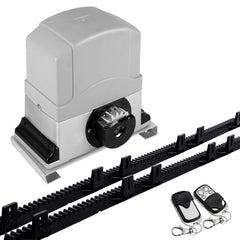 Motor Powered Auto Sliding Gate Opener w/ 6m Rail - Garage & Gates - ANB Mart
