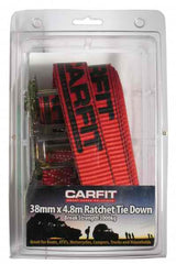 Carfit Smart Cargo 38mm x 4.8m Ratchet Single Pack | Buy Car Cargo Accessories Products Online With the Best Deals at Anbmart.com.au!