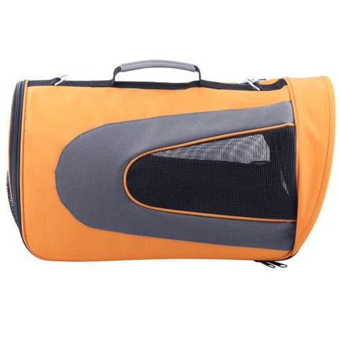 Pet Dog Cat Carrier Travel Bag XLarge Orange - Cats & Dogs - ANB Mart