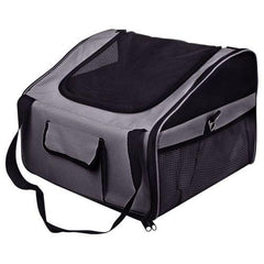 Pet Dog Cat Car Seat Carrier Travel Bag Small Grey | Buy Cats & Dogs Products Online With the Best Deals at Anbmart.com.au!
