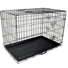 30 Inch Metal Collapsible Dog Cage | Buy Cats & Dogs Products Online With the Best Deals at Anbmart.com.au!