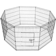 8 Panels Pet Dog Exercise Playpen | Buy Cats & Dogs Products Online With the Best Deals at Anbmart.com.au!