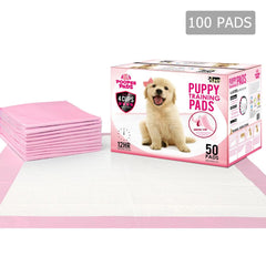 100 Puppy Pet Dog Toilet Training Pads Pink | Buy Cats & Dogs Products Online With the Best Deals at Anbmart.com.au!
