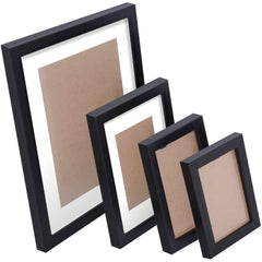 26 pcs Photo Frames Set Wall Black - Home Decoration - ANB Mart