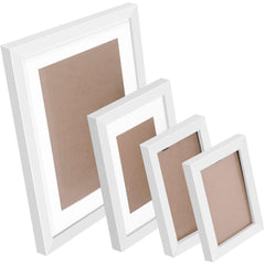 26 pcs Photo Frames Set Wall White - Home Decoration - ANB Mart