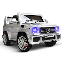 Kids Ride on Car with Remote Control Silver | Buy Kids Go-Karts & Ride-Ons Products Online With the Best Deals at Anbmart.com.au!