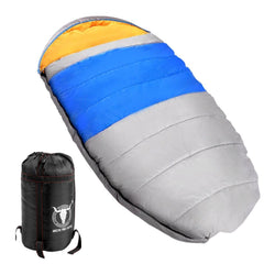 Camping Thermal Sleeping Bag King Blue | Buy Camping & Hiking Products Online With the Best Deals at Anbmart.com.au!