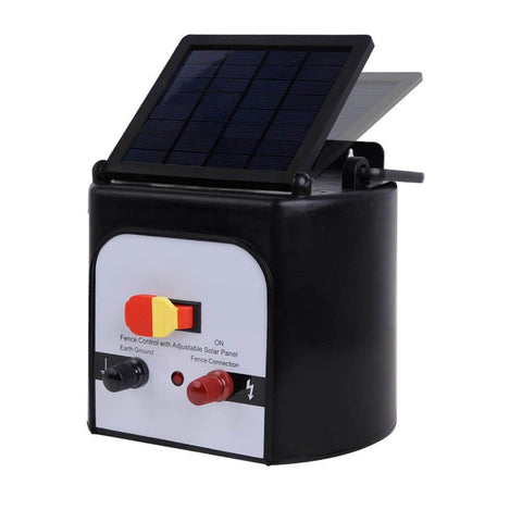 15km Solar Power Electric Fence Energiser Charger - Farm Supplies & Pest Control - ANB Mart