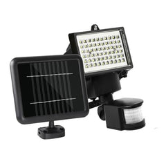 60 LED Solar Sensor Outdoor Light - Garden Lights - ANB Mart