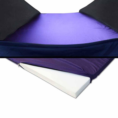 Double Camping Canvas Swag with Mattress and Air Pillow - Blue - Camping & Hiking - ANB Mart