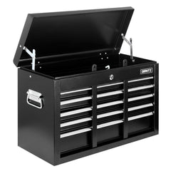 9 Drawers Tool Box Chest Black | Buy Tools Storage Products Online With the Best Deals at Anbmart.com.au!