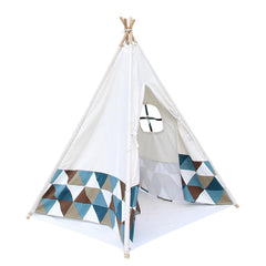 4 Poles Teepee Tent w/ Storage Bag | Buy Kids Games & Toys Products Online With the Best Deals at Anbmart.com.au!