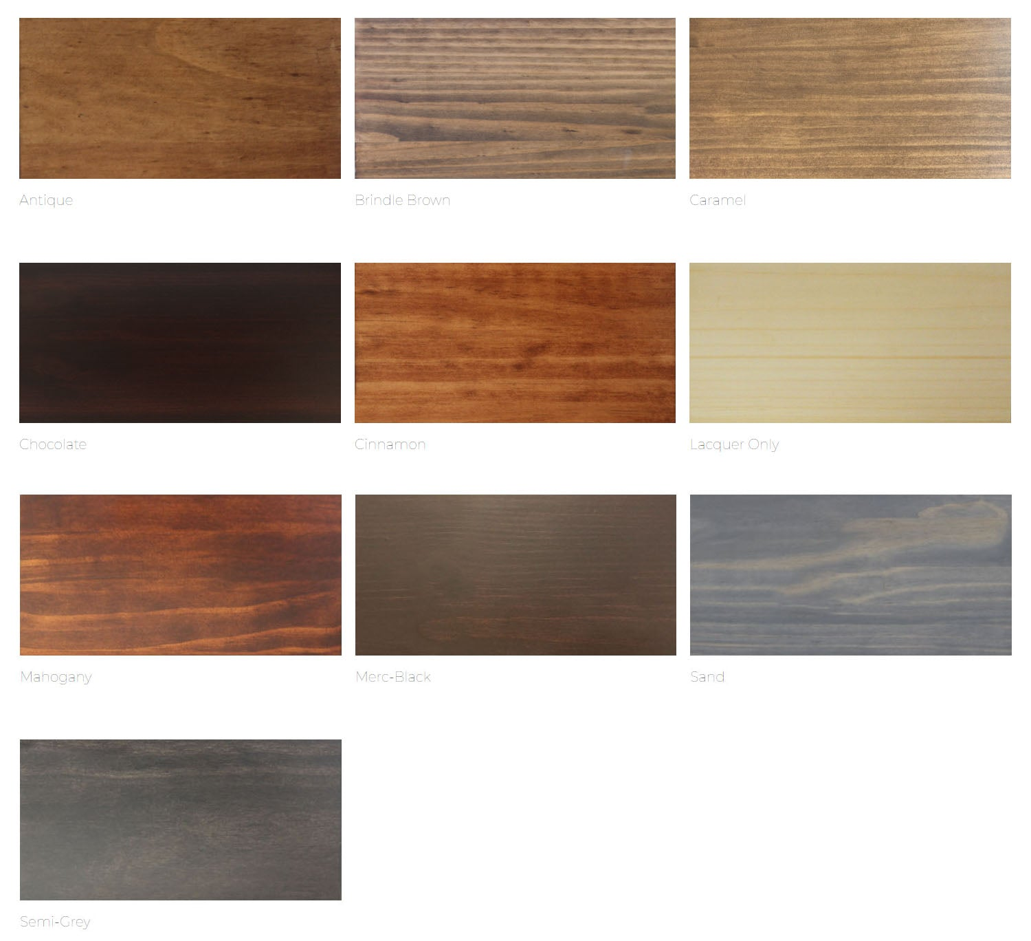 Made in Canada Custom Bedroom Stains - MJM Furniture