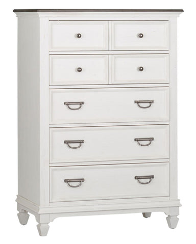 Allyson Park 5 Drawer Chest - MJM Furniture
