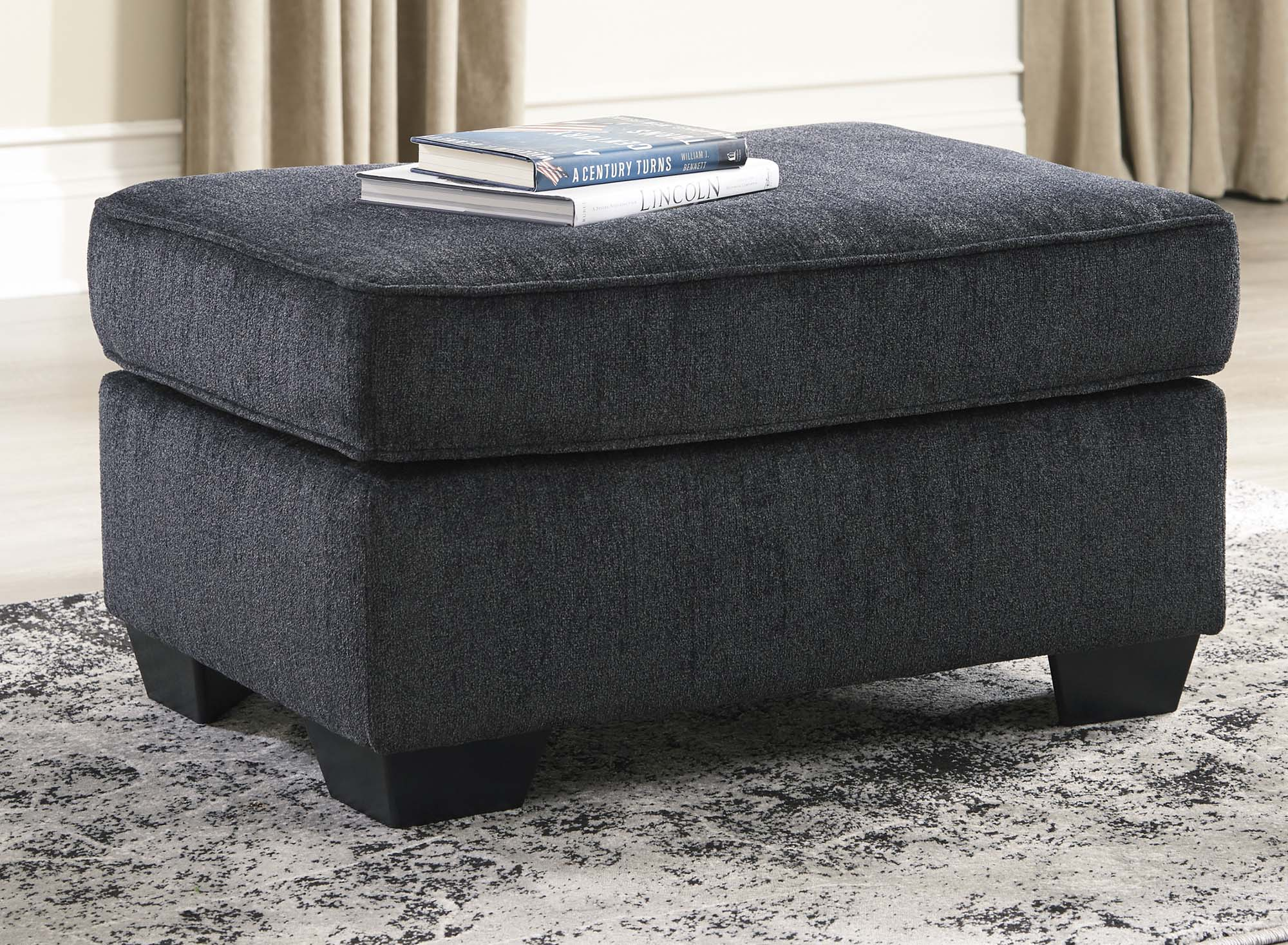 Altari Slate Ottoman - MJM Furniture