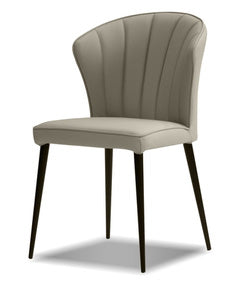 Caleb Leather Dining Chair - MJM Furniture
