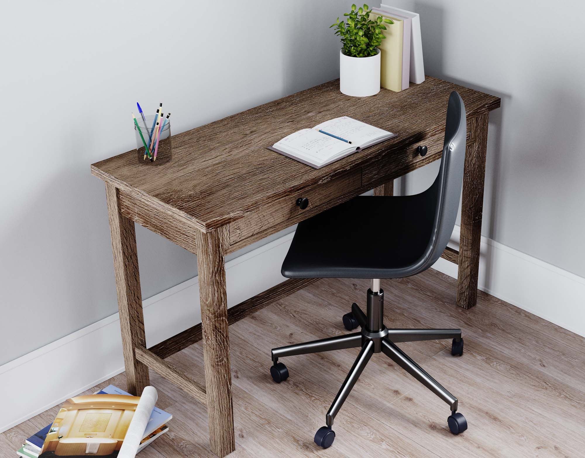 Arlenbry Home Office Desk - MJM Furniture