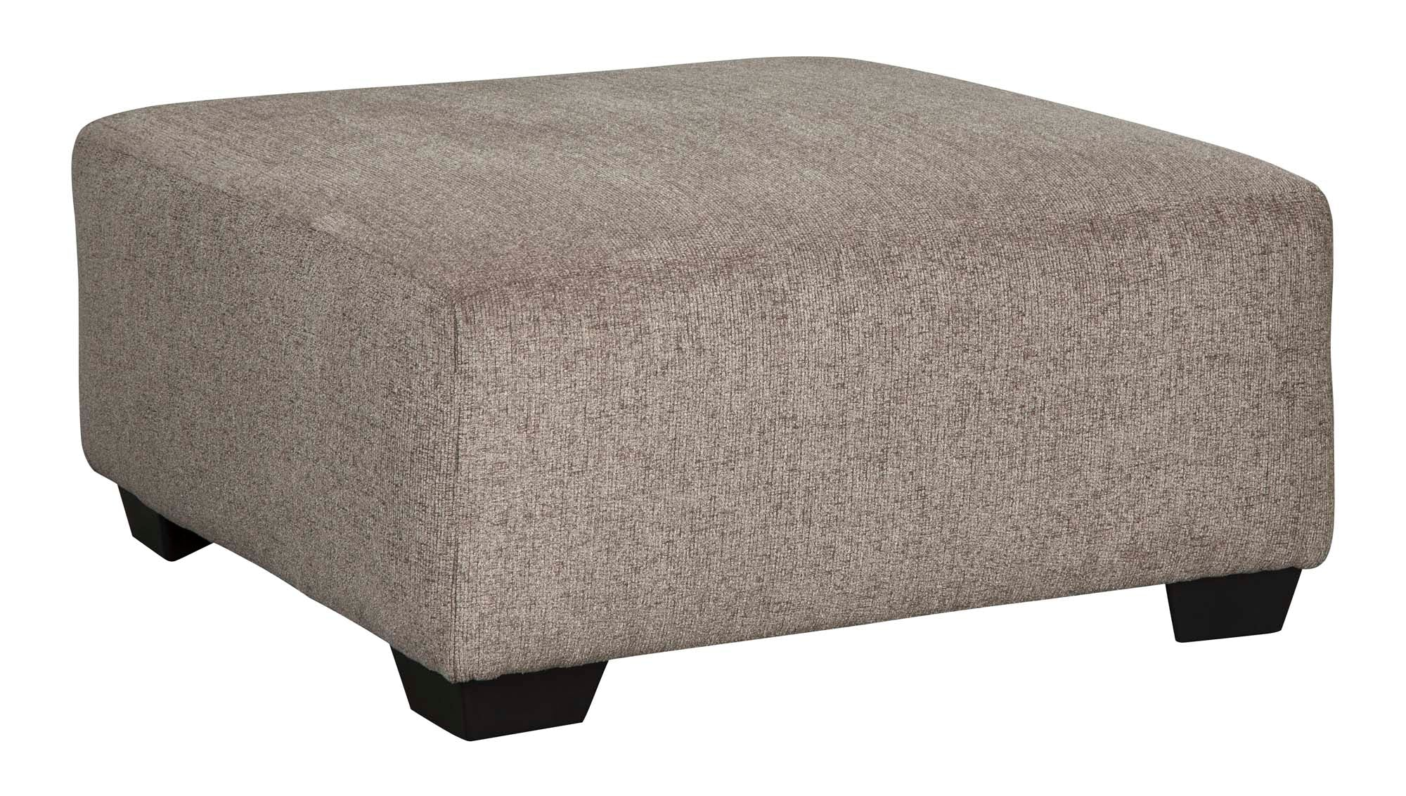 Ballinasloe Platinum Accent Ottoman - MJM Furniture