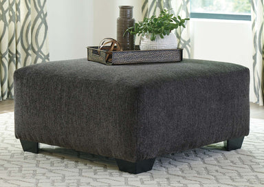 Ballinasloe Smoke Accent Ottoman - MJM Furniture