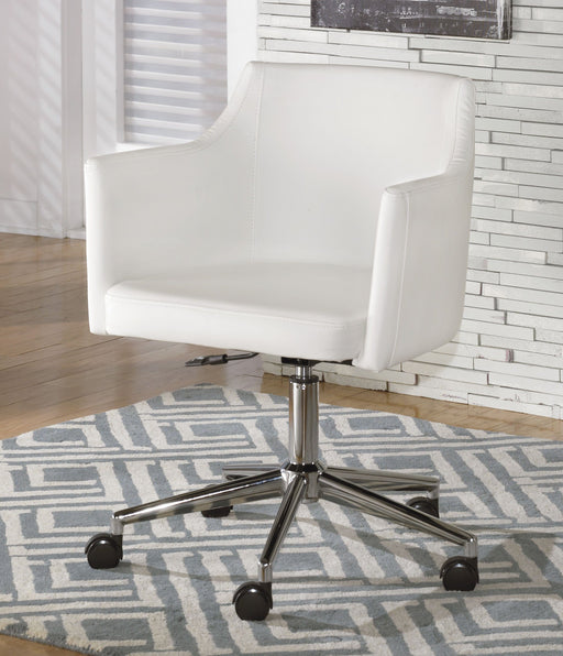 Baraga Home Office Swivel Desk Chair - MJM Furniture