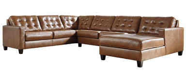 Baskove Auburn 4 Piece Sectional - MJM Furniture
