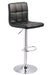 Bellatier Black Adjustable Swivel Barstool - MJM Furniture