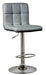 Bellatier Gray Adjustable Swivel Barstool - MJM Furniture