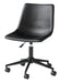 Black Swivel Office Chair - MJM Furniture