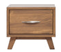 Brandon Caramel Pine 1 Drawer Nightstand - MJM Furniture