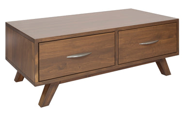 Brandon Caramel Pine Coffee Table - MJM Furniture